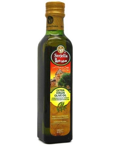 Оливковое масло Extra Virgin, Serjella, 250 мл