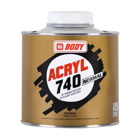 Растворитель Body 740 ACRYL (норм) 0,5л