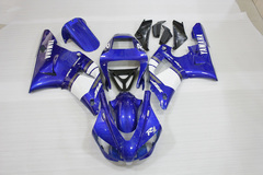 Комплект пластика для мотоцикла Yamaha YZF-R1 98-99 Сине-Белый