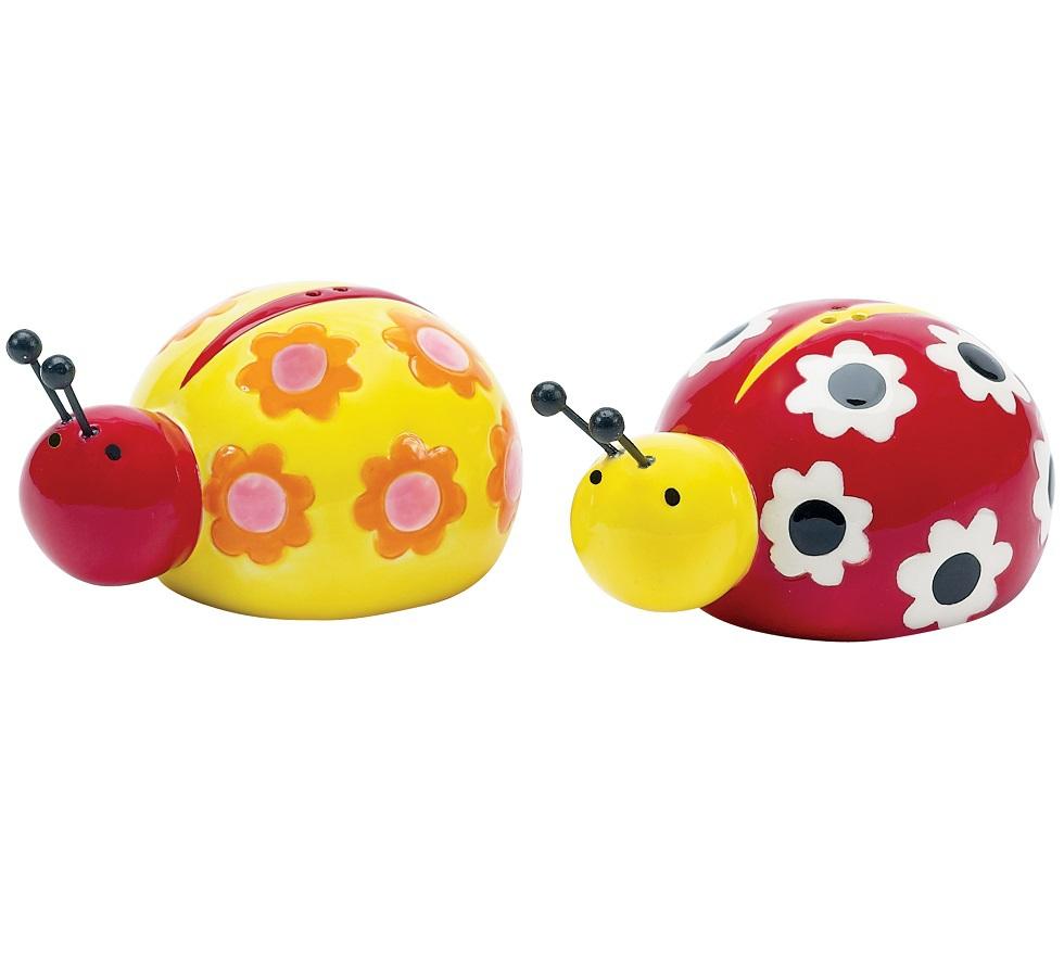 Хранение продуктов Набор солонка и перечница Boston Warehouse Ladybug Garden nabor-solonka-i-perechnitsa-boston-warehouse-ladybug-garden-ssha.jpg