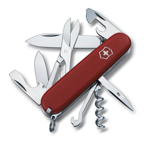 Нож Victorinox EcoLine, 91 мм, 14 функции, красный матовый