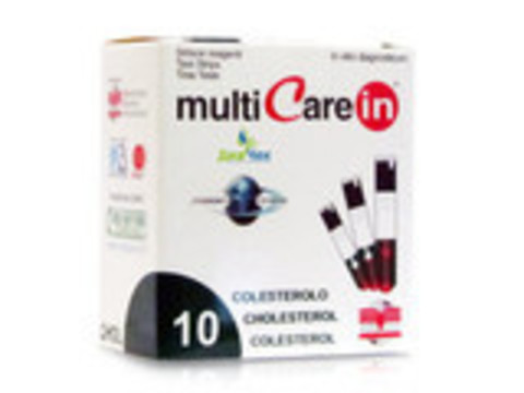 Тест-полоски Мультикэа ин (Multicare-in) Холестерин №10