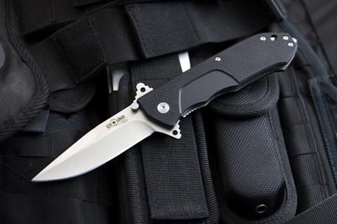 Складной нож Nemesis AUS-8 Satin