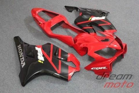 Комплект пластика для мотоцикла Honda CBR 600 F4i 01-03 красно-черный заводской