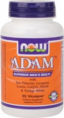 NOW ADAM Men's Multivitamin (90 caps.)