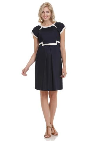 Платье для беременных 05645 синий