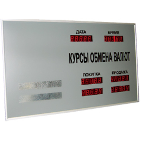 Табло курсов валют CERB 10
