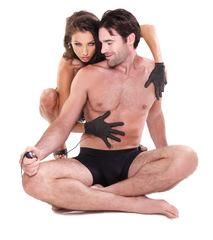 Электросекс для тела Fetish Fantasy Series Shock Therapy Luv Gloves