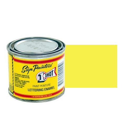 130-L Эмаль для пинстрапинга 1 Shot Желтый первоцвет (Primrose Yellow), 118 мл