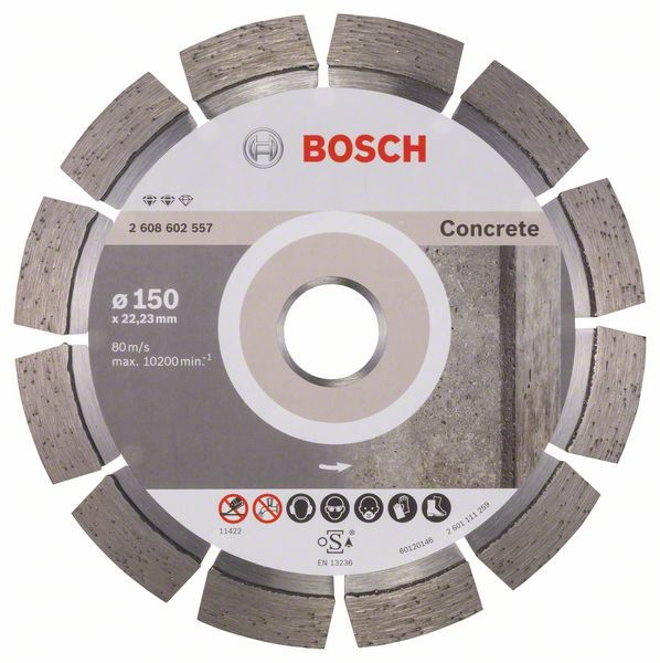 Алмазный диск Expert for Concrete 150-22,23 Bosch 2608602557