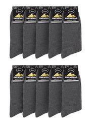 A11-1 носки мужские, серые (10шт)