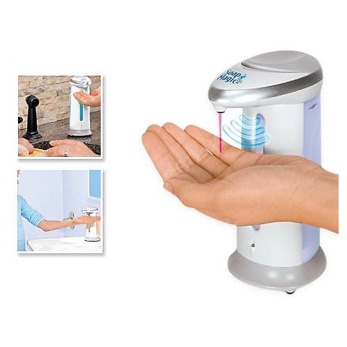 Товары для кухни Мыльница сенсорная Soap Magic (Соап Мэджик) dispenser.jpg
