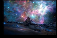 """Постер """"Космический пейзаж"""""""