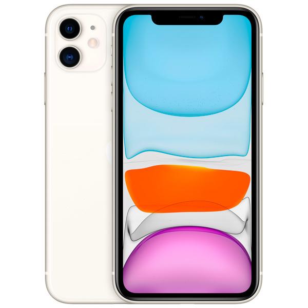 iPhone 11, 128 ГБ, белый