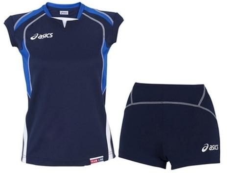 Asics Set Olympic Lady форма волейбольная женская dark blue