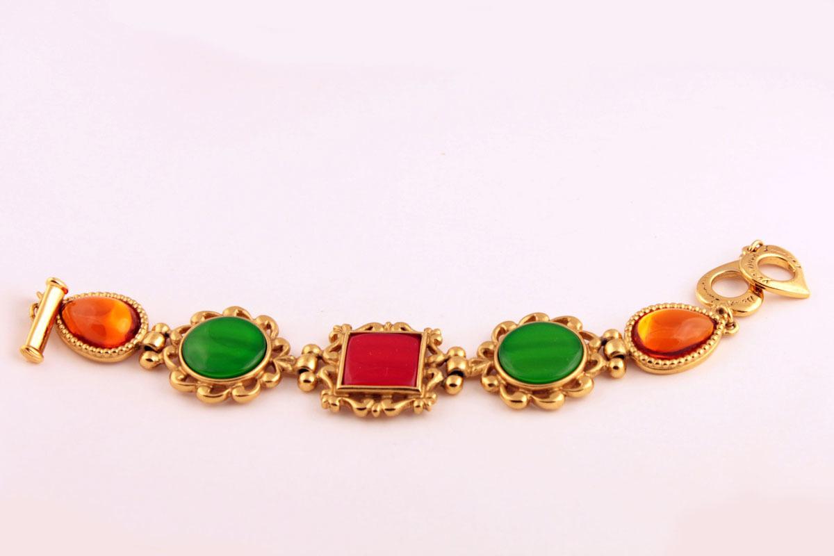 Разноцветный браслет от YSL