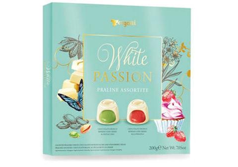 Ассорти пралине из белого шоколада White Passion, 200г