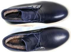 Зимние ботинки мужские классические Ikoc 004-9 S
