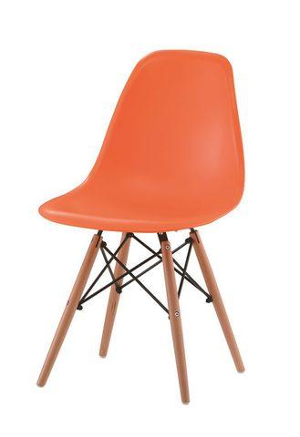 Стул ESF 971 оранжевый