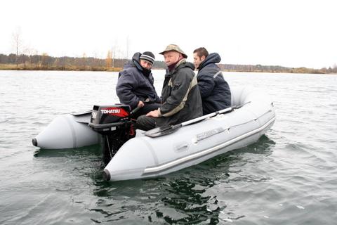 Надувная моторная лодка ПВХ Stream Сибирь 3800