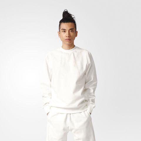 Свитшот мужской adidas ORIGINALS DELUXE KNIT CREW
