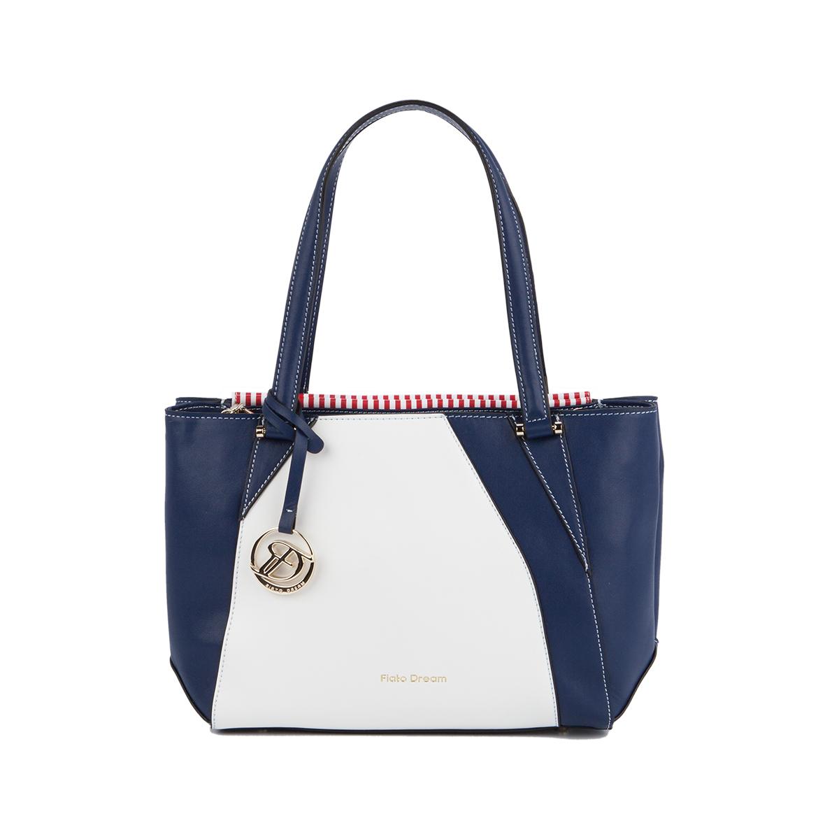 2024 FD кожа белый /синий/красный (сумка женская)