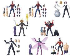 Марвел Легенд фигурки Человек паук Бесконечность серия 03