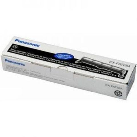 Panasonic KX-FAT88A - Тонер картридж Panasonic KX-FL401, KX-FL402, KX-FL403, KX-FL423, KX-FLC411, KX-FLC412, KX-FLC413. Ресурс 2000 страниц.
