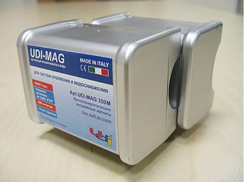 """Магнитный преобразователь воды UDI - MAG 350M 3/4"""" для стальных труб НАКЛАДНОЙ"""
