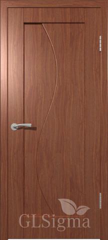 Дверь GreenLine Sigma-5, цвет итальянский орех, глухая