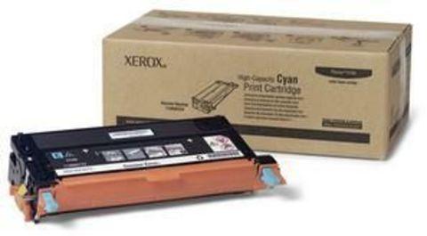 Xerox Phaser 6180 тонер-картридж cyan (голубой) 113R00723 (6000стр)