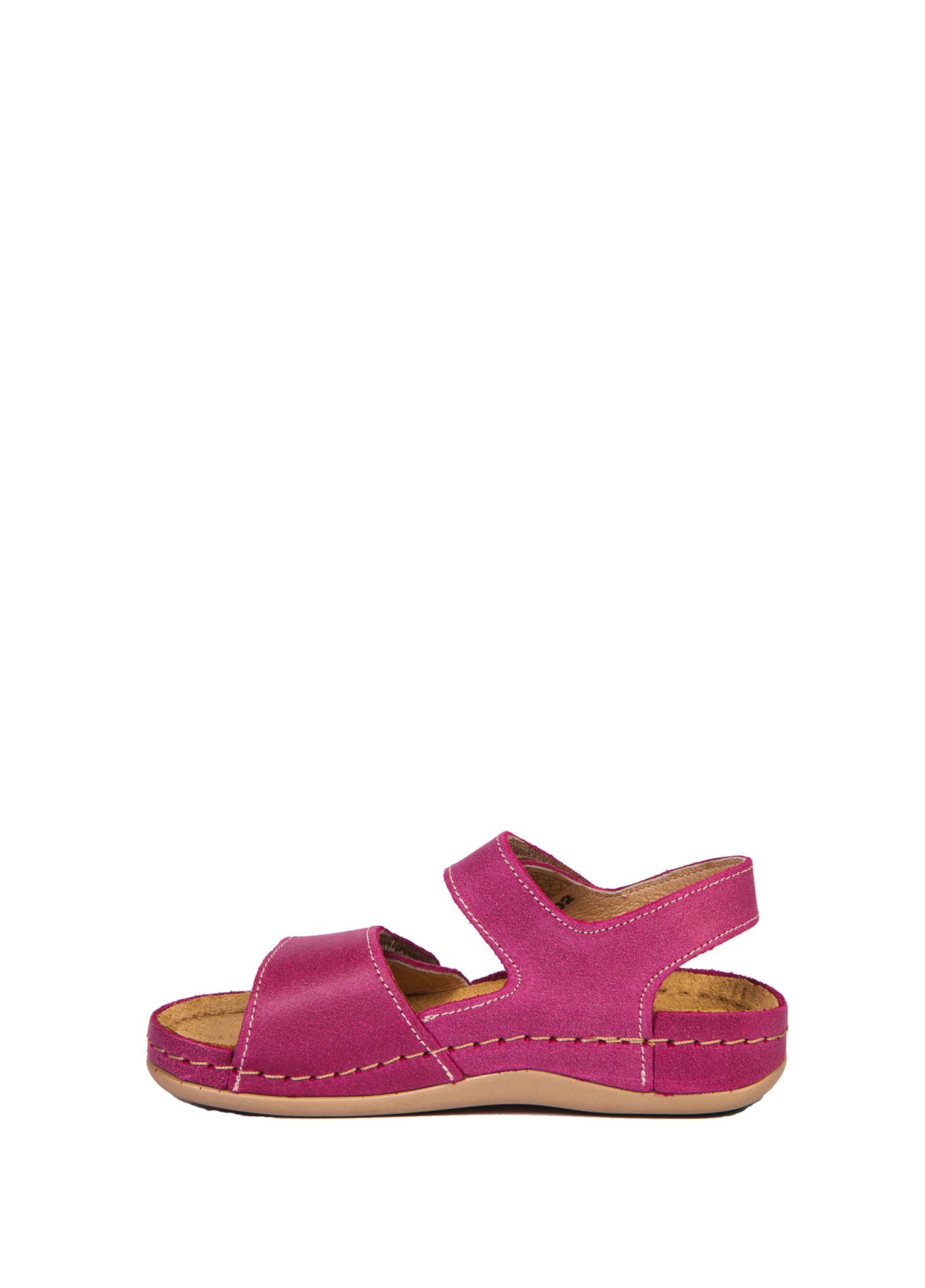 Детские сандалии розовые LEON