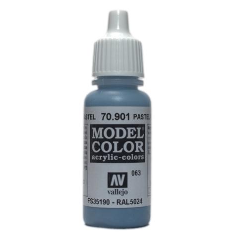 Model Color Pastel Blue 17 ml.