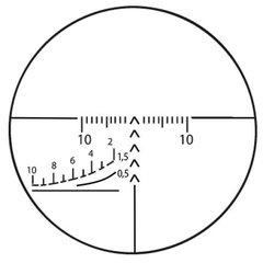Оптический прицел ПО ПОСП 6*42 В для карабина Вепрь и Сайга