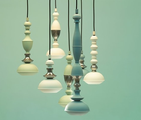 Benben Lamp Collection   by Jacco Marris ( green )