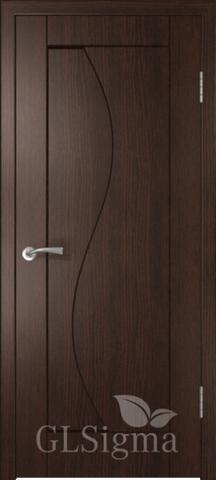 Дверь GreenLine Sigma-5, цвет венге, глухая