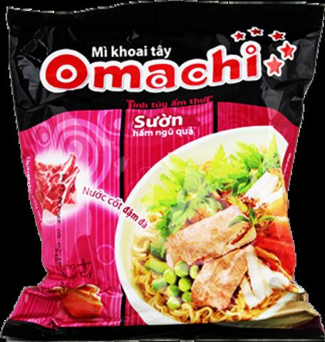 Сублимированная вьетнамская лапша Omachi, вкус свинины, 80 гр.