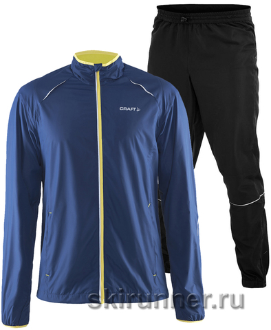 Костюм беговой Craft Active Running Dark Blue