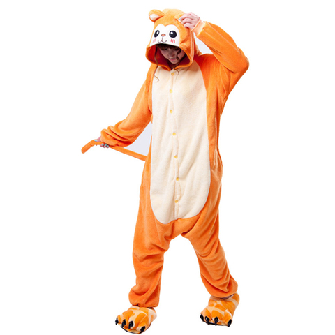 Пижама кигуруми обезьяна