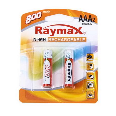 Аккумуляторы Raymax R03, AAA 800mAh (2/24)