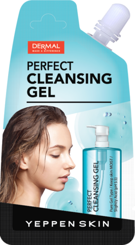 Гель для умывания Yeppen Skin Perfect Cleansing Gel от Dermal