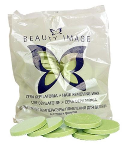 Beauty Image Воск в дисках оливковый, Стандарт - Для чувствительной кожи №8