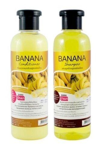 Banna Банановый набор шампунь+кондиционер Banana для сухих волос 360+360 мл