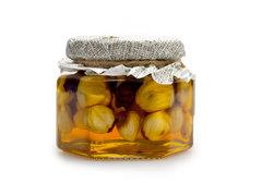 Фундук в меду Столбушино, 120г