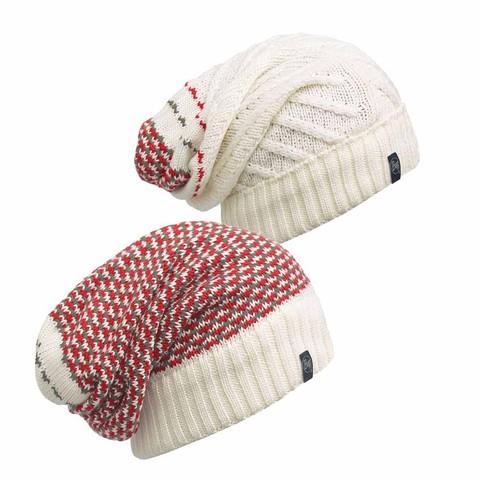 шапка-бини Buff Zile Cream