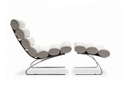 replica  sinus armchair ( leather )