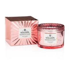 Ароматическая свеча Voluspa Просекко Розе в подарочной коробке
