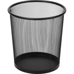 Корзина круглая, метал. сетка,d225х225мм, 6,7л.(черная)