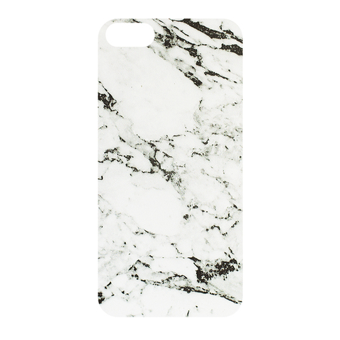 Чехол для IPhone 5/5S Marble White&Grey
