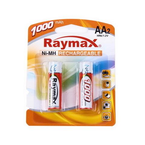 Аккумуляторы Raymax R6, AA 1000mAh (2/24)